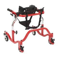 Drive Medical Luminator Gait Trainer, Anterior, Tyke, Red - 1 ea