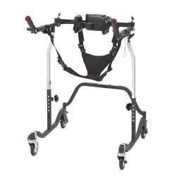 Drive Medical Luminator Gait Trainer, Posterior, Adult, Black - 1 ea