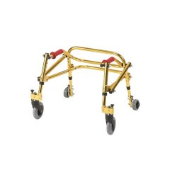 Drive Medical Nimbo Rehab Lightweight Posterior Posture Walker, Tyke, Golden Yellow - 1 ea