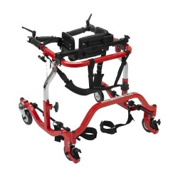 Drive Medical Star Posterior Gait Trainer, Tyke, Red - 1 ea