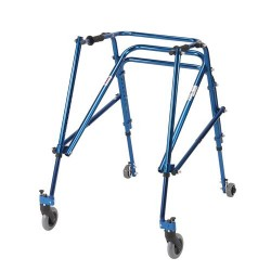 Drive Medical Nimbo Rehab Lightweight Posterior Posture Walker, Young Adult, Midnight Blue - 1 ea