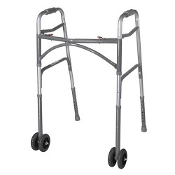 Drive Medical Heavy Duty Bariatric Walker Wheels, 5 inches - 1 Pair