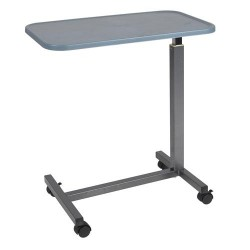 Drive medical plastic top overbed table - 1 ea
