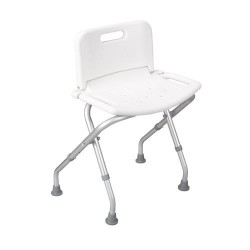 Drive medical folding bath bench with backrest - 1 ea