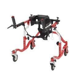 Drive Medical Luminator Gait Trainer, Posterior, Tyke, Red - 1 ea