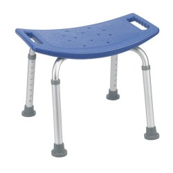 Drive Medical Bathroom Safety Shower Tub Bench Chair, Blue - 1 ea