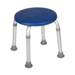 Drive Medical Adjustable Height Bath Stool, Blue - 1 ea