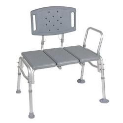 Drive Medical Heavy Duty Bariatric Plastic Seat Transfer Bench - 1 ea