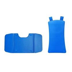 Drive medical bellavita comfort cover, blue - 1 ea