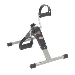 Drive Medical Folding Exercise Peddler with Electronic Display, Black - 1 ea