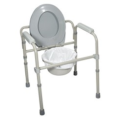 Drive Medical Commode Pail Liner, Pack of 12 - 1 ea