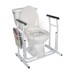 Drive Medical Stand Alone Toilet Safety Rail - 1 ea