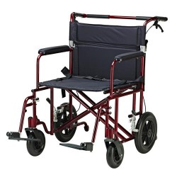 Drive Medical Bariatric Heavy Duty Transport Chair - 1 ea
