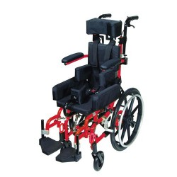 Drive Medical Kanga TS Tilt In Space Wheelchair, Pediatric, 14 inches Seat - 1 ea