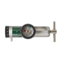 Drive Medical Chad CGA 870 Brass Core Oxygen Regulator, 0-15 LPM - 1 ea