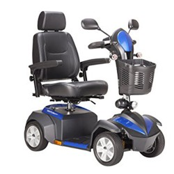 Drive Medical Ventura Power Mobility Scooter, 4 Wheel, 20 inches Captains Seat - 1 ea