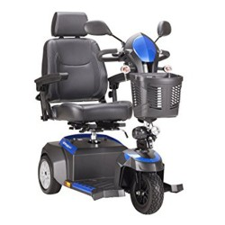 Drive Medical Ventura Power Mobility Scooter, 3 Wheel, 20 inches Captains Seat - 1 ea