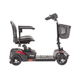 Drive Medical Spitfire Scout Compact Travel Power Scooter, 4 Wheel - 1 ea