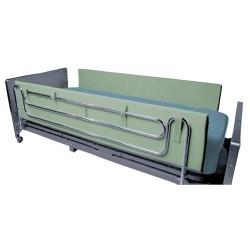Drive Medical Foam Side Rail Bumper Pads, 72 inches - 1 Pair