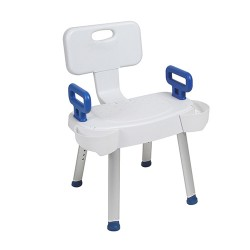 Drive Medical Arms for Shower Chair with Folding Back - 1 ea