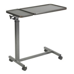 Drive Medical Multi-Purpose Tilt-Top Split Overbed Table - 1 ea