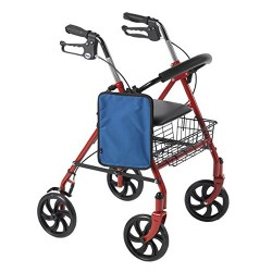 Drive Medical AgeWise Walker Rollator Personal Computer/Tablet Caddy, Blue - 1 ea