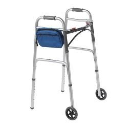Drive Medical AgeWise Walker Rollator Caddy, Blue - 1 ea
