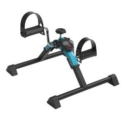 Drive Medical Folding Exercise Peddler with Digital Display, Blue - 1 ea