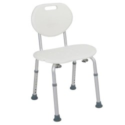 Drive Medical Bath Seat with Oval Back - 1 ea