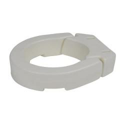 Drive Medical Hinged Toilet Seat Riser, Standard Seat - 1 ea