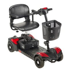 Drive medical scout compact travel power scooter, 4 wheel, extended battery - 1 ea