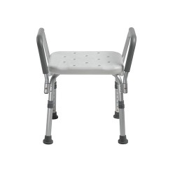 Drive Medical Knock Down Bath Bench with Padded Arms - 1 ea