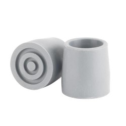 Drive Medical Utility Replacement Tip, 1-1/8 inches, Gray - 1 ea