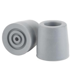 Drive Medical Utility Replacement Tip, 7/8 inches, Gray - 1 ea