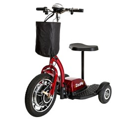 Drive medical zoome three wheel recreational power scooter - 1 ea