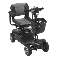 "Drive medical phoenix heavy duty power scooter, 4 wheel, 20"" seat - 1 ea"