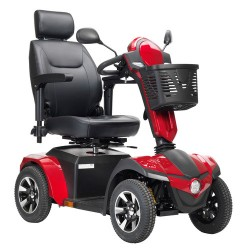 "Drive medical panther 4 - wheel heavy duty scooter, 20"" captain seat - 1 ea"