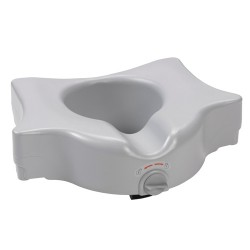 Drive medical bariatric 5 locking raised toilet seat - 1 ea