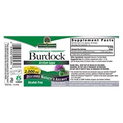 Natures Answer Burdock Root Alcohol Free Extract - 1 Oz