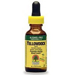 Natures Answer Yellowdock Root Fluid Extract, Alcohol Free - 1 oz