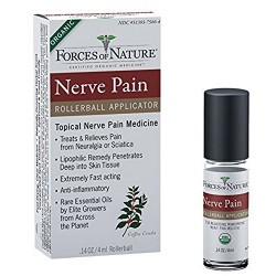 Forces of nature nerve pain management rollerball - 0.14 oz