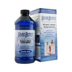 American biotech labs silver biotics ultimate immune system support liquid - 16 oz