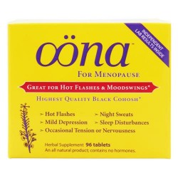 Oona herbal supplement for menopause - 96 tablets