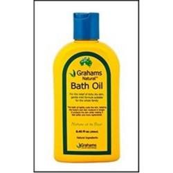 Natural bath oil grahams natural -  8.45 oz