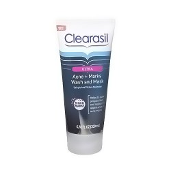 Clearasil Ultra Acne Marks Wash And Mask - 6.78 oz