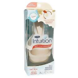 Schick intuition razor pure nourishment with coconut milk and almond oil - 1 ea