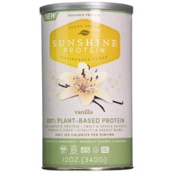 Designer Protein Sunshine Nutritional Supplement Vanilla - 12 oz