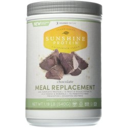 Designer Protein Sunshine Nutritional Meal Replacement Powder Chocolate - 1.19 lb