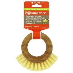 Full circle the ring vegetable brushcome clean - 1 ea, 12pack