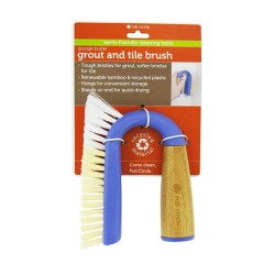 Full circle grunge buster grout and tile brush - 1 ea, 6pack